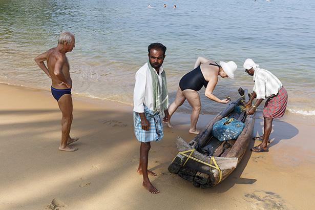 INDIA. Kerala. Kovalam. 2016.